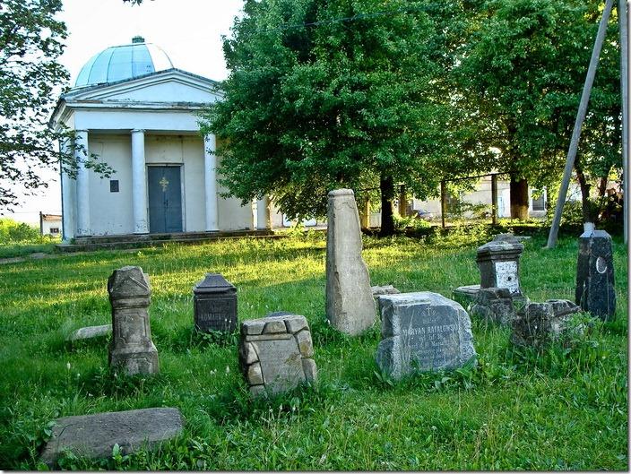 Чернівці, польський цвинтар