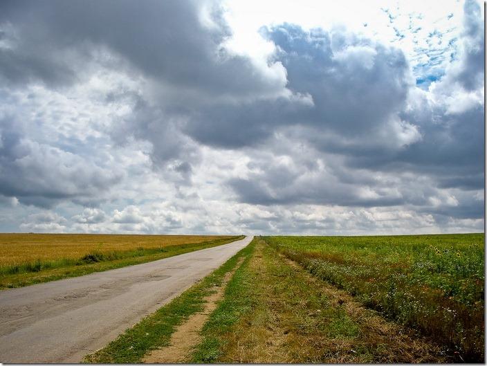 дорога між Петрівками
