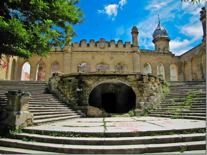 Петрівка, західний фасад палацу Курисів