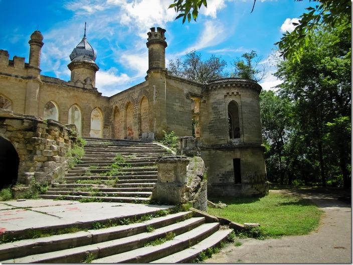 Петрівка, палац Курисів