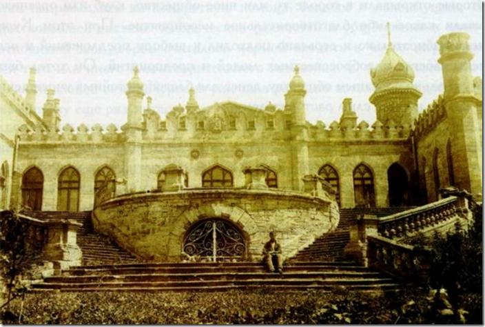 архівне фото  західного фасаду