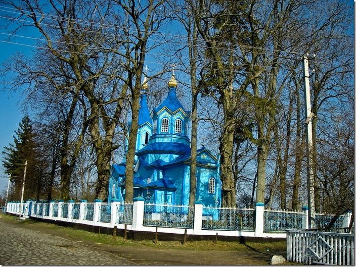 Великі Межирічі, церква Петра і Павла