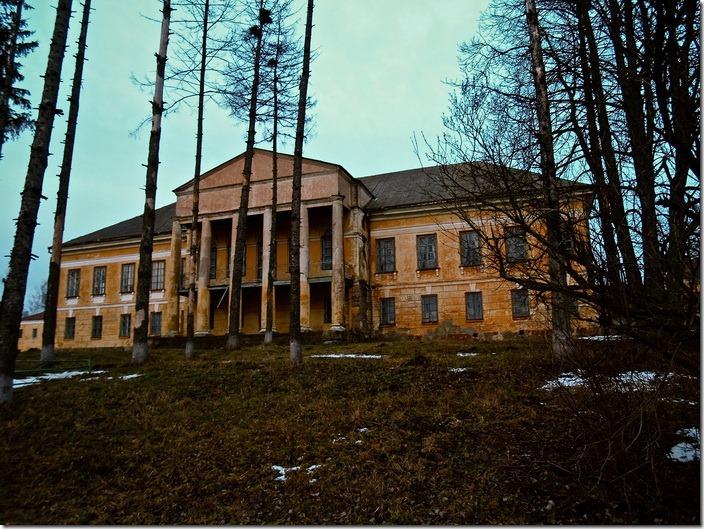 Великі Межирічі, палац Стецького