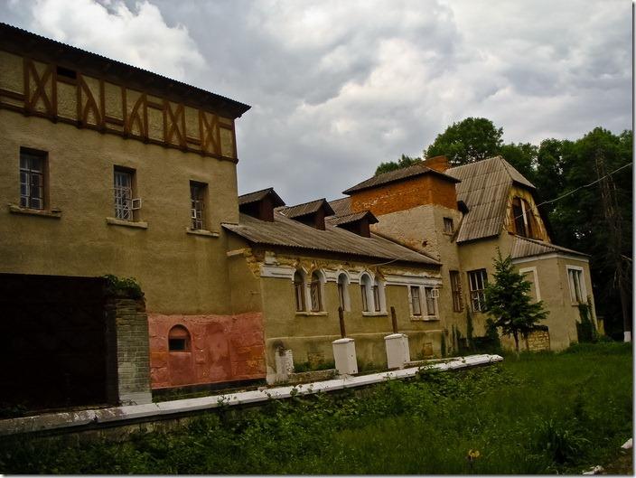 Комаргород, палац  Балашових
