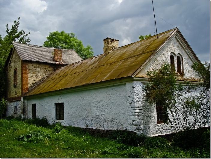 Комаргород,  будівлі палацу Балашових