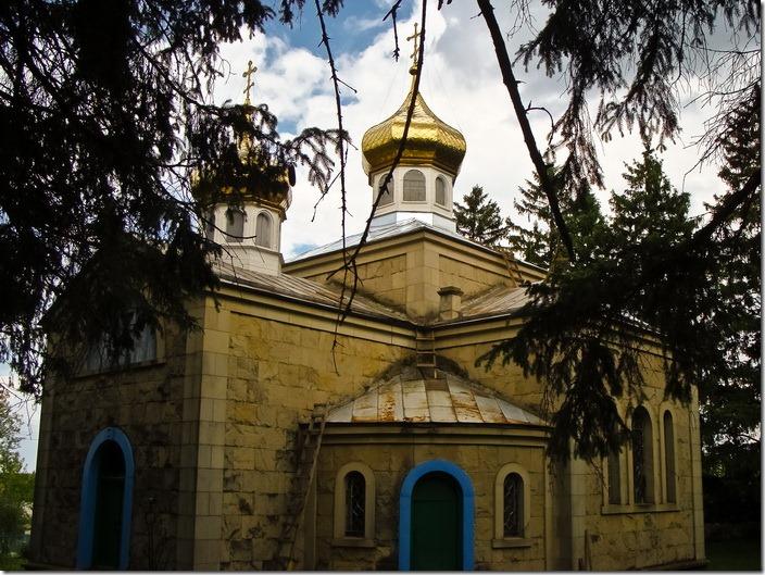 Комаргород,  Стефанівська церква