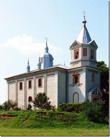 Комаргород,  церква Святого Миколая