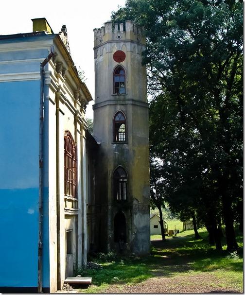Кривчик, башта палацу