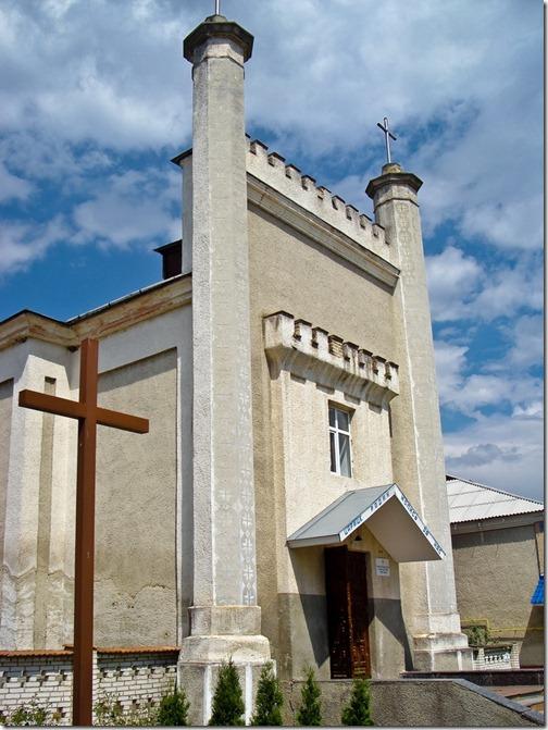 Тульчин, костел Діви Марії
