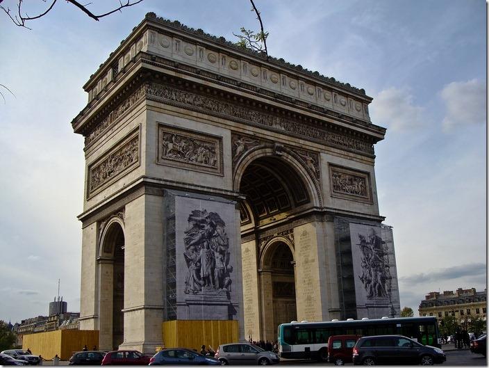Париж, Триумфальна арка