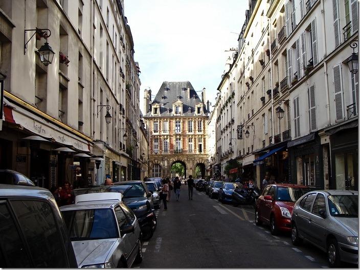 Париж, Рю де Біраже