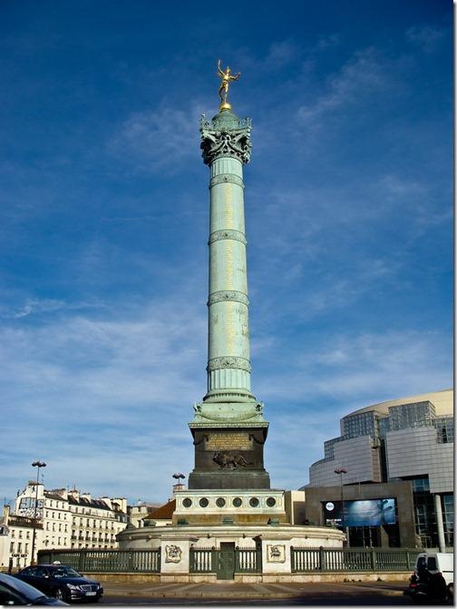 Площа Бастилії,  Липнева колона