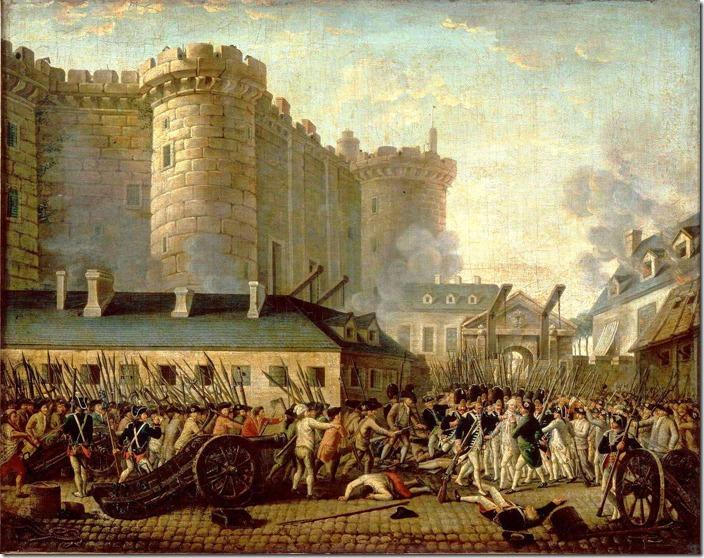 Жан П'єр Уель. «Взяття Бастилії»
