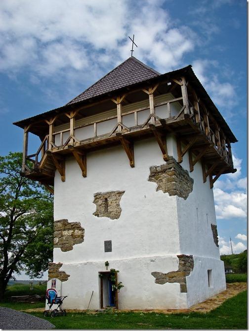 Буша, башта замку