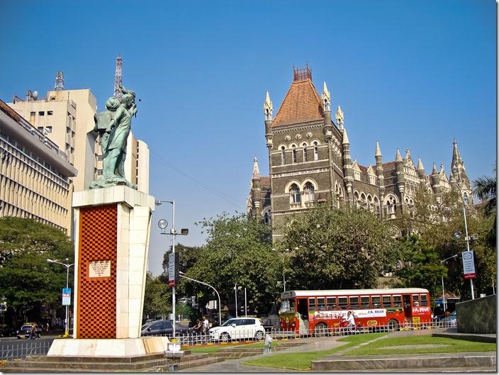 Мумбаї, площа Мучеників