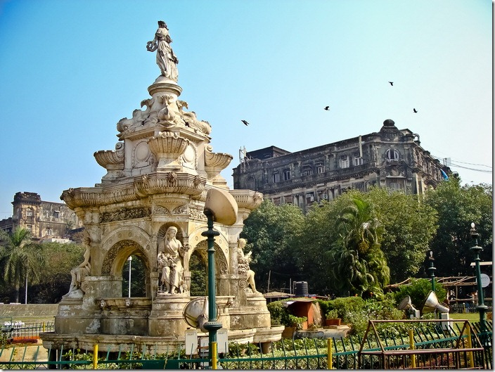 Мумбаї, фонтан Флора