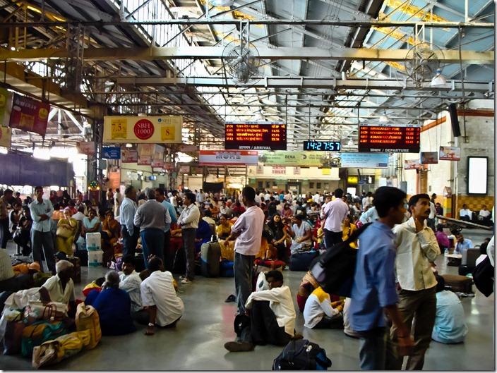 Мумбаї, вокзал  Чхатрапаті Шиваджи